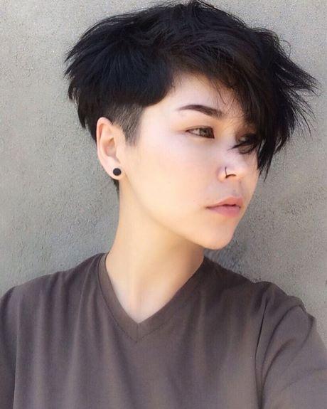 POV Uncut short asian hair