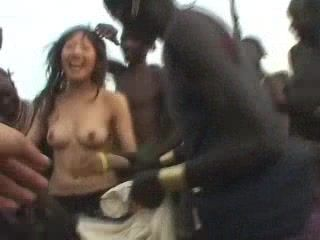 in Wife fucks fuck african chinese