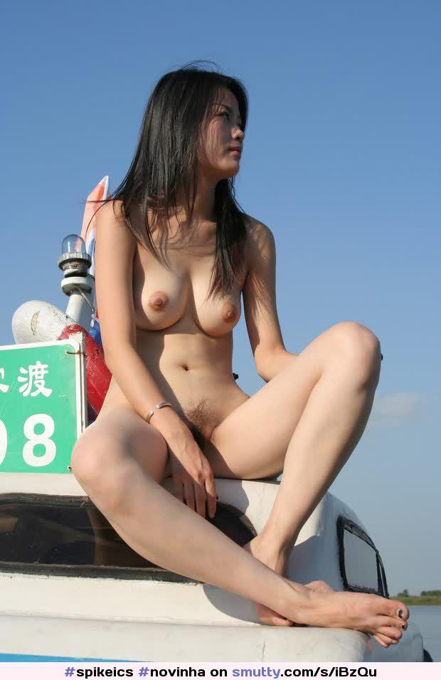 Hot Naked Pics Chinese brush stroke mobius strip