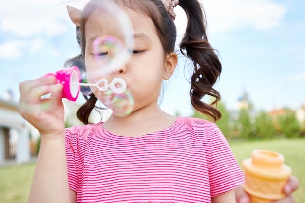 bubble asian Outdoor voyeur