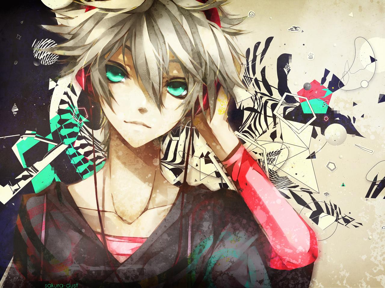anime wallpaper Cute guy