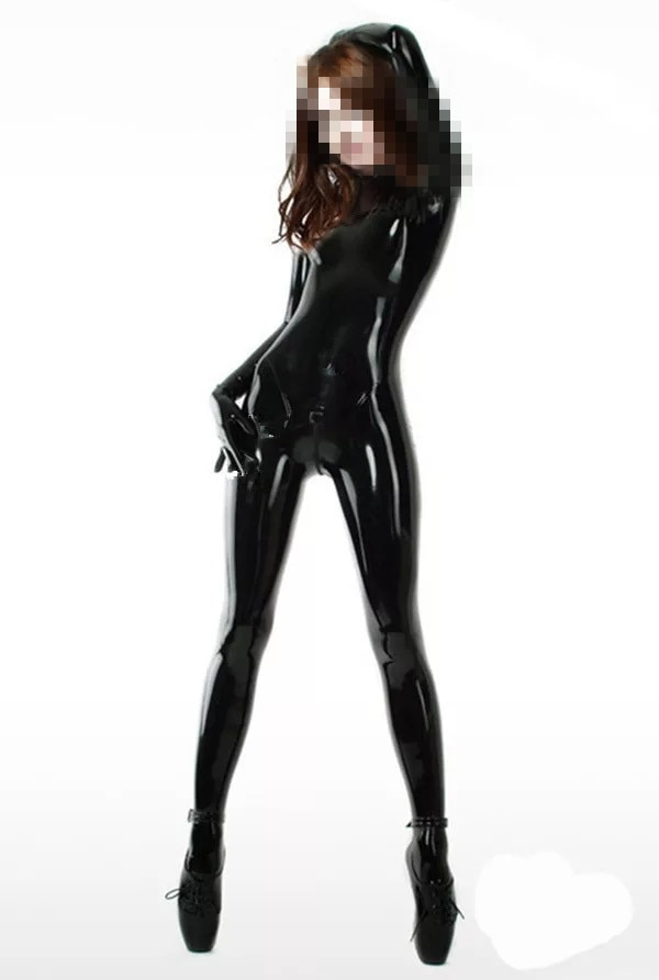 rubber fetish suit Chinese