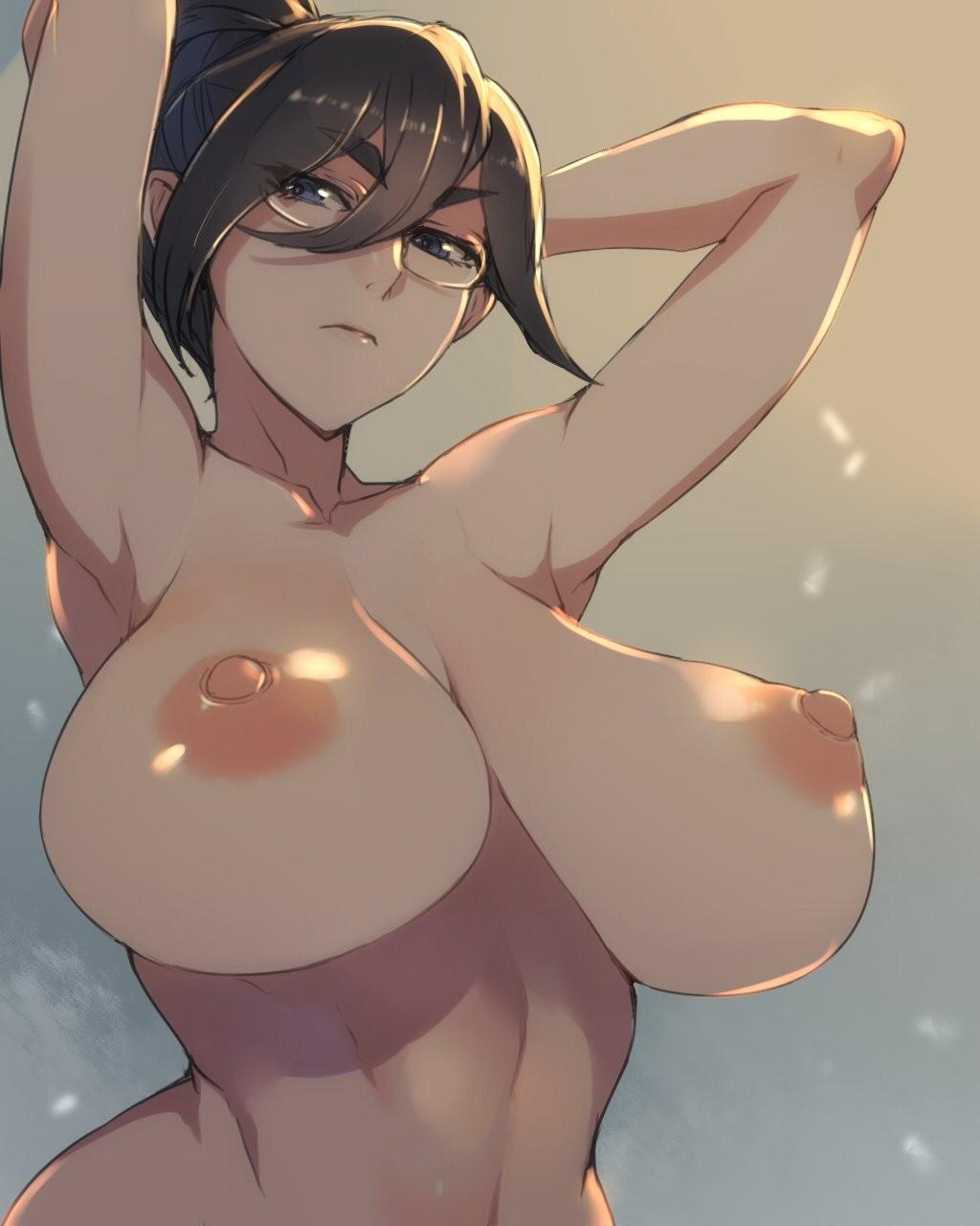 tits Anime girl