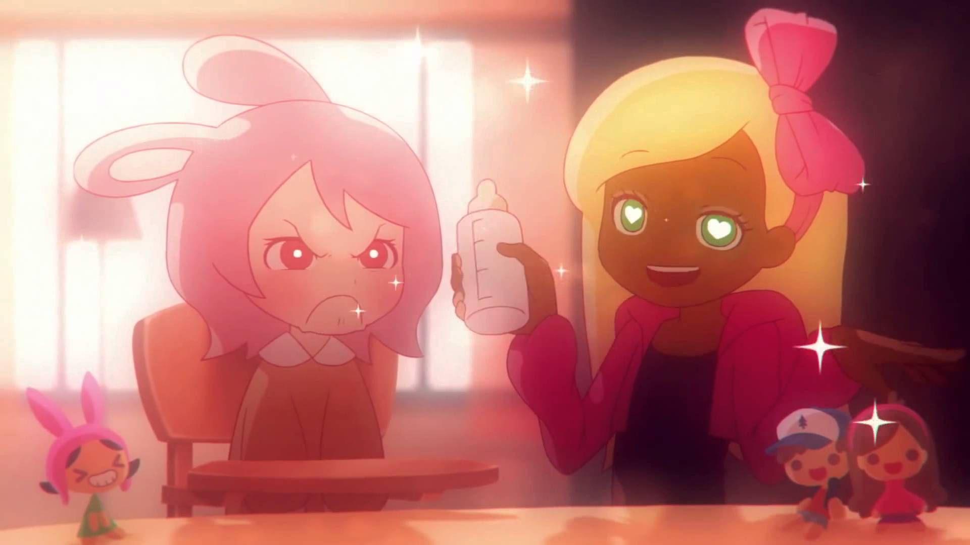 XXX photo Tg busty girl caption anime