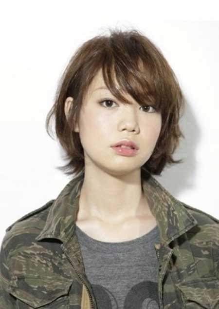 Asian dickforlily secretary long hair