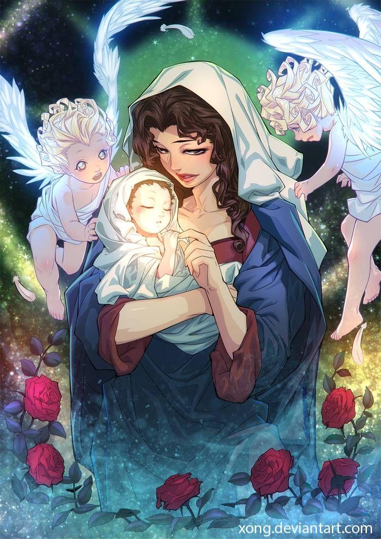 anime Virgin mary