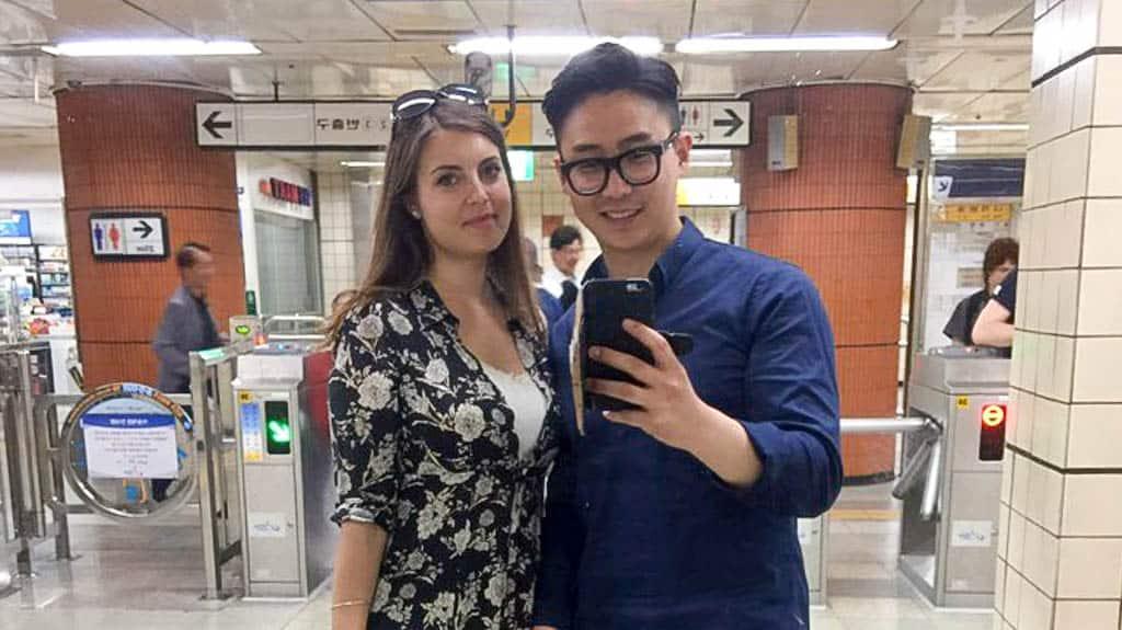 guy dating girl Chinese korean