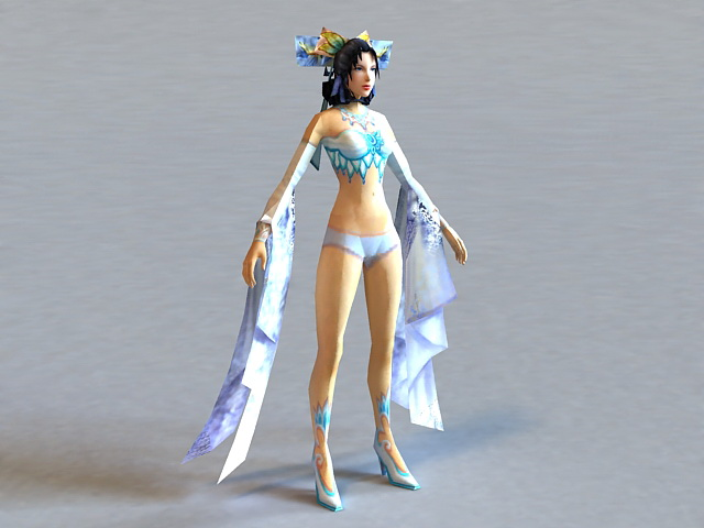 download models 3d anime