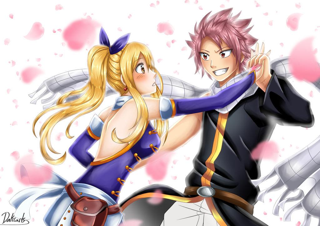 anime lucy Natsu and
