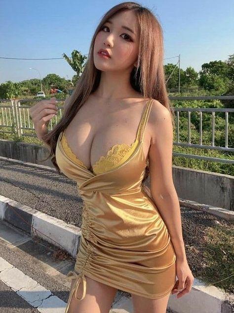 maid curvy Asian sensual
