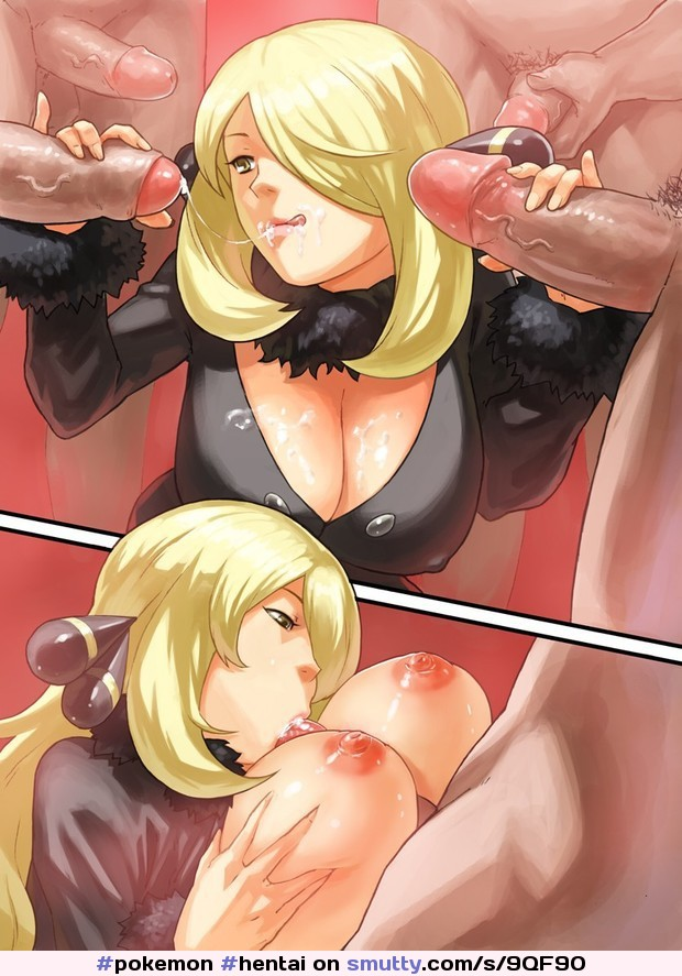 blowjob Anime blonde