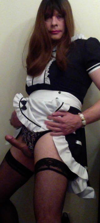 vibrator sissy Asian maid