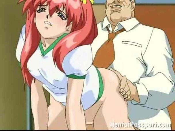 redheads Sexy anime