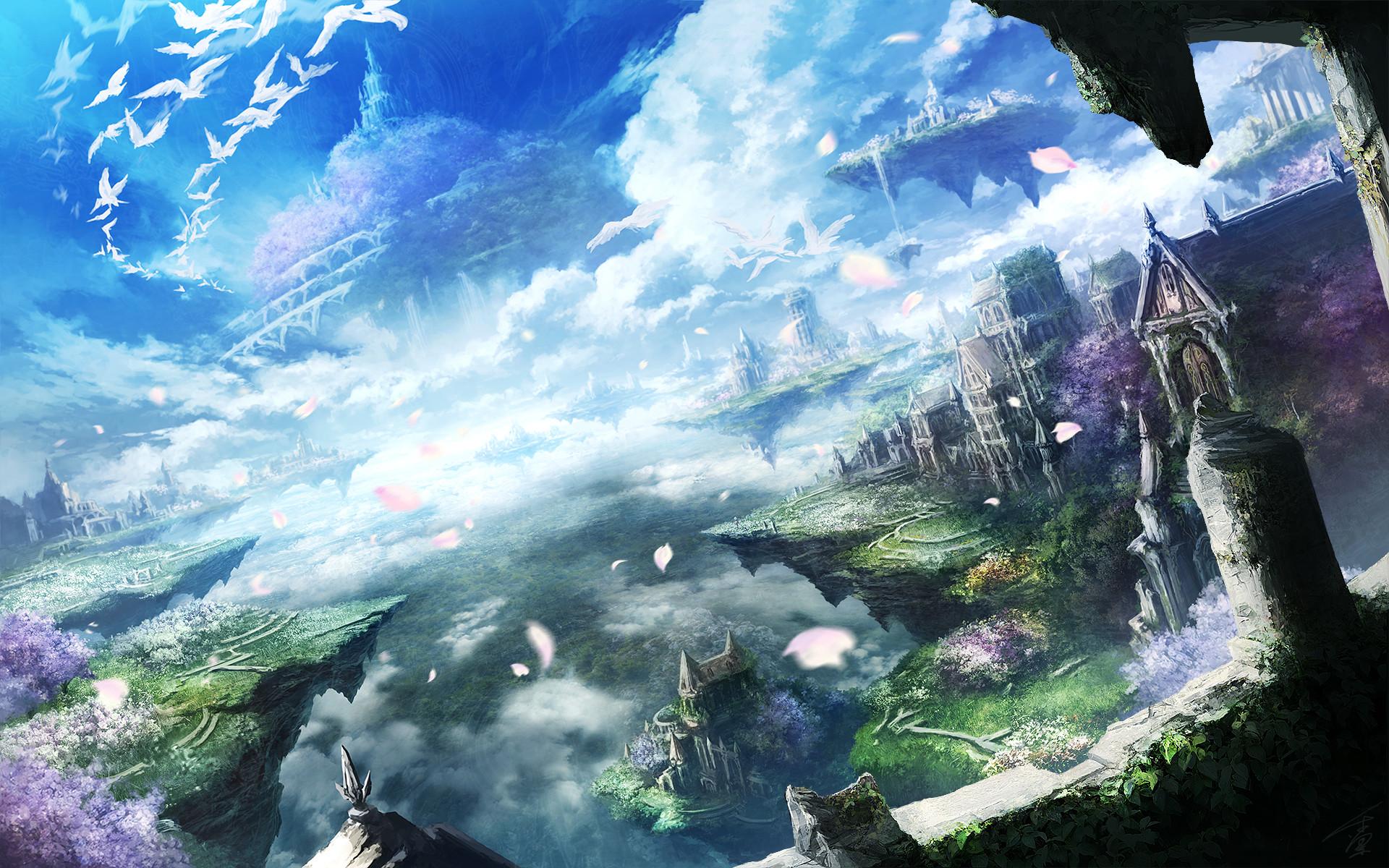 wallpapers Beautiful anime