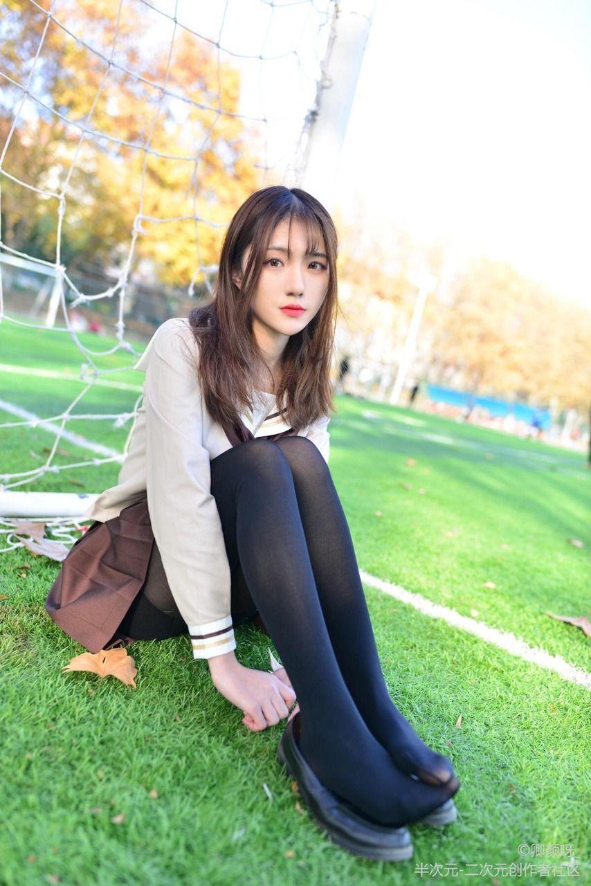 black panties Asian uniform