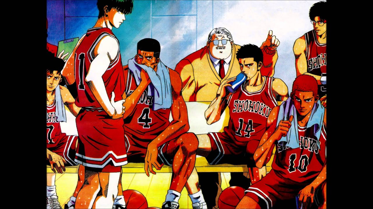 Slam dunk anime wallpaper hd