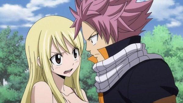 Natsu and lucy anime