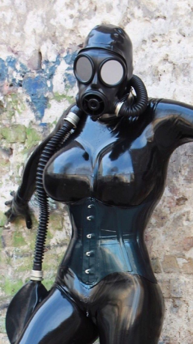 Chinese rubber fetish suit