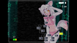 nights anime mangle jumpscare Five at