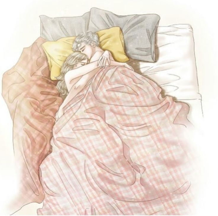 couple bed Anime images in