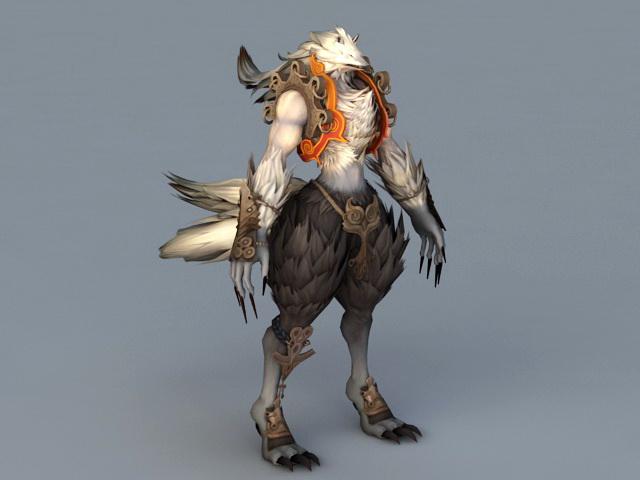 girl Anime warrior fox