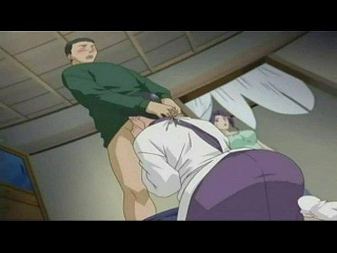 girl blow job Anime