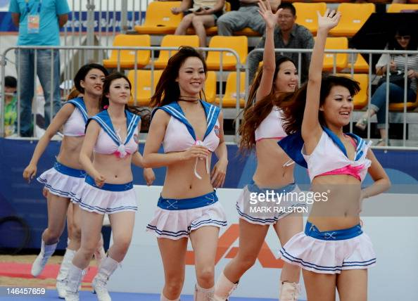 webcam Asian cheerleaders otngagged