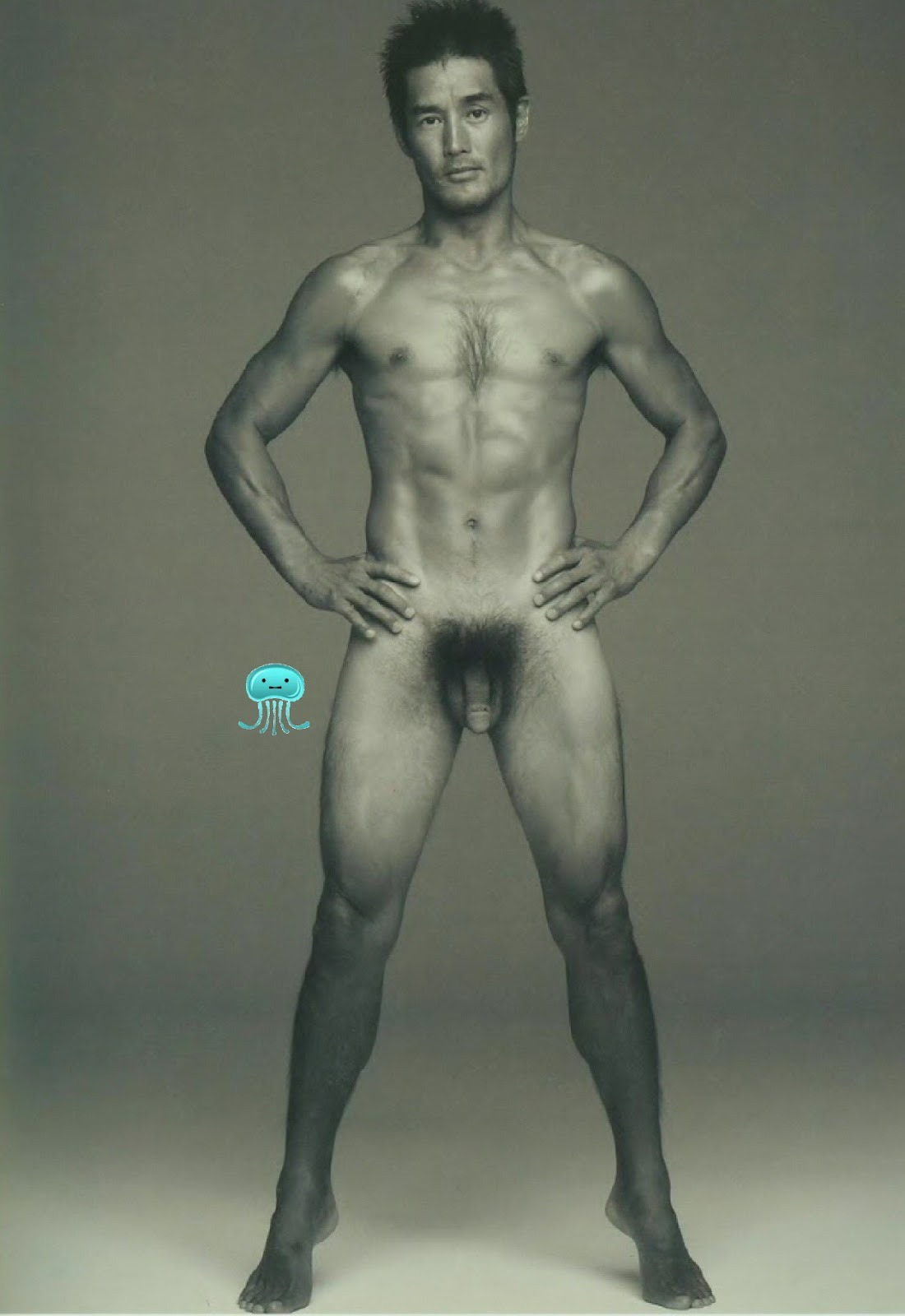male Asian nude chinese