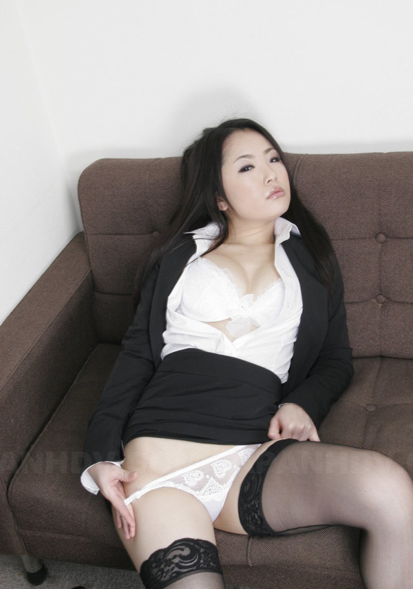 curly lingerie secretary Asian
