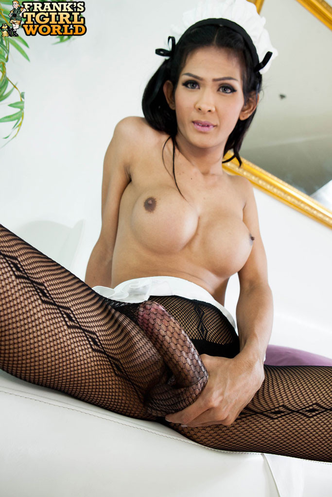 maid Asian vibrator shemale