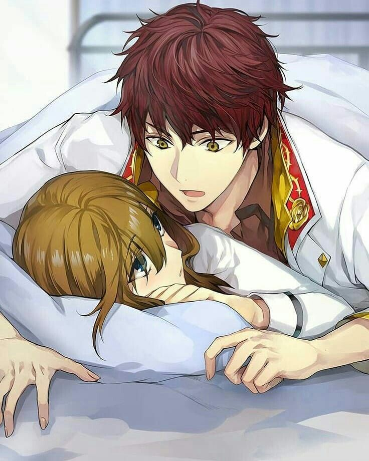 love couples Cute anime in