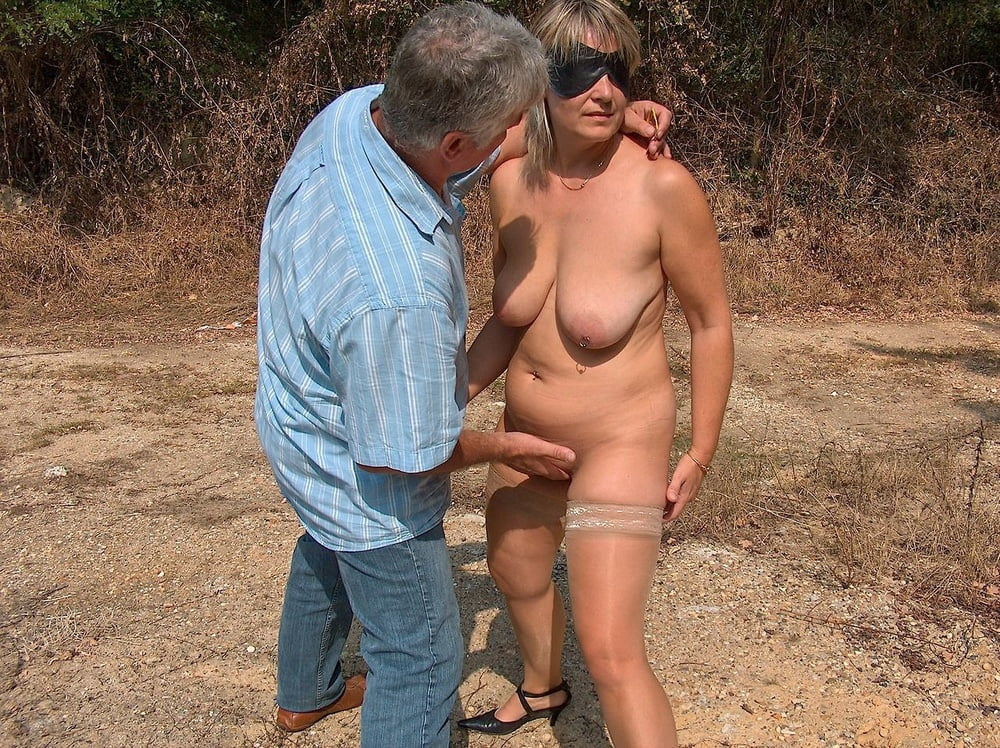 chubby outdoor Wife asian