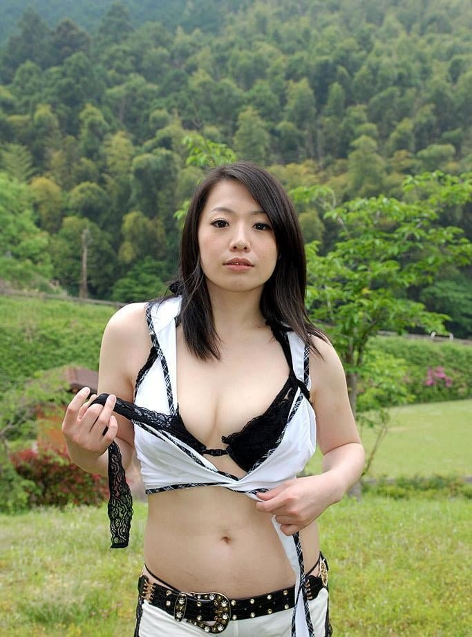 Asian outdoor compilation housewife