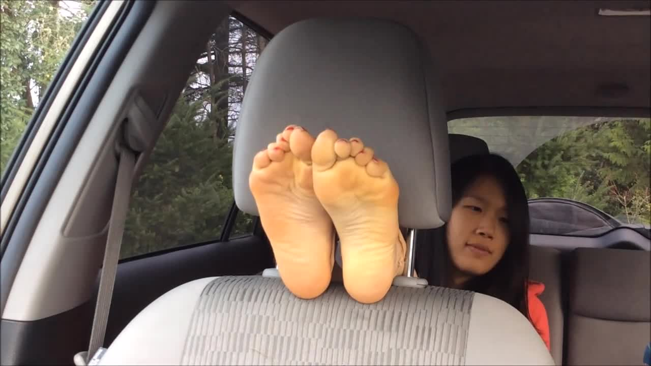 Asian redhead POV young