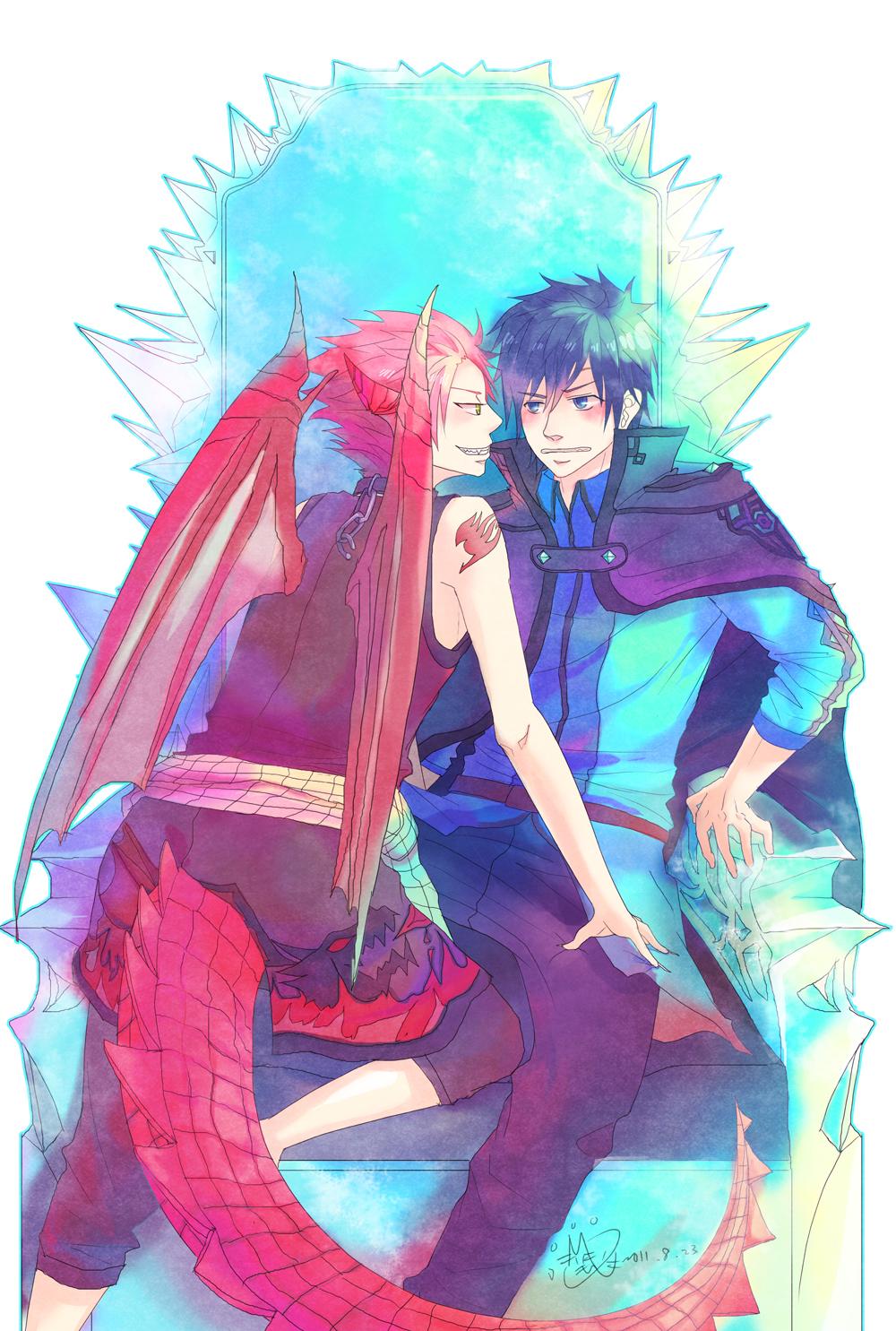 Fairy tail anime plot