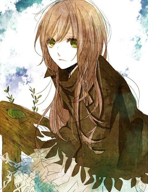 with hazel girl eyes Anime