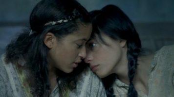 lesbian movie anime clips Free