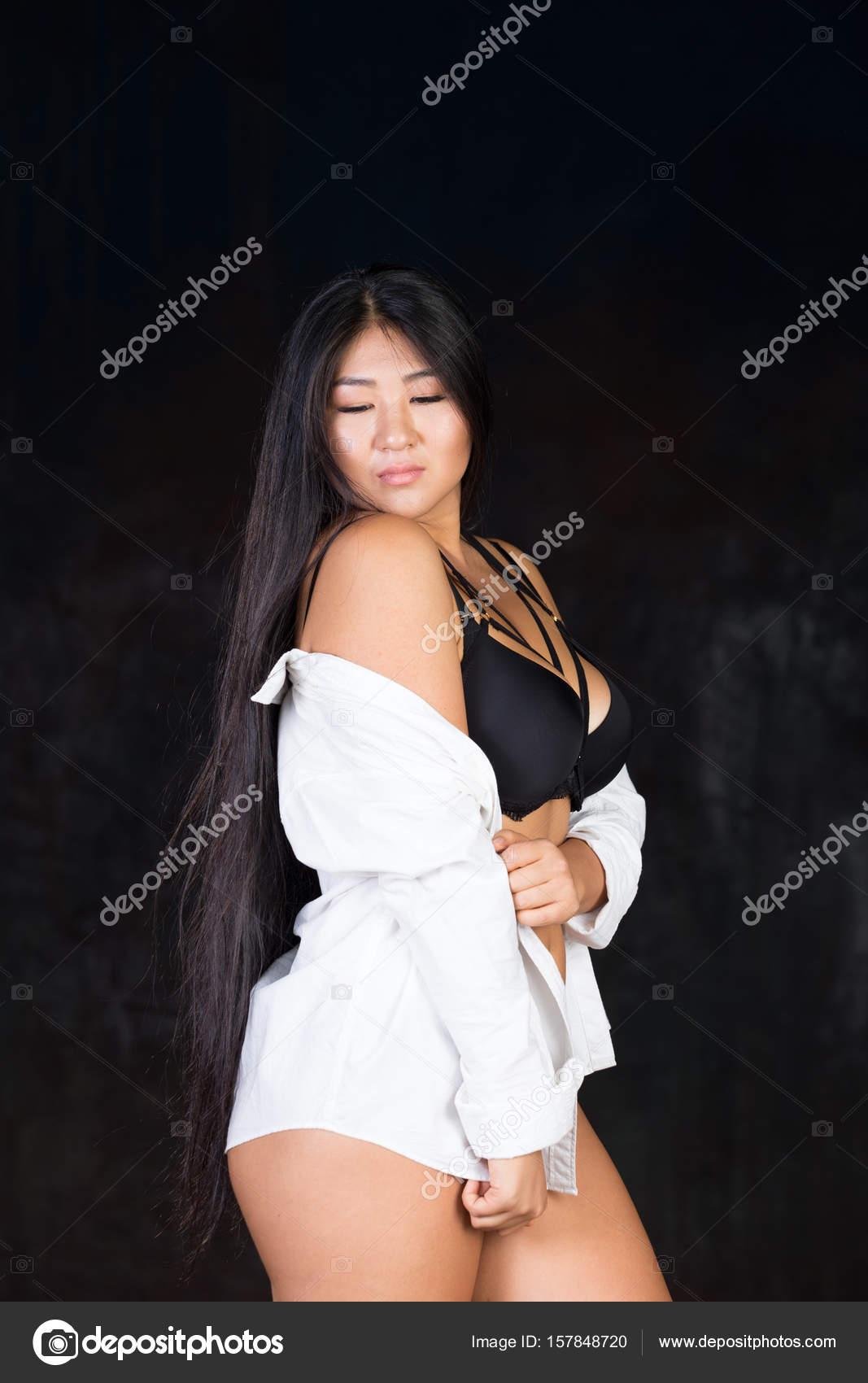 curvy Sex hair asian long
