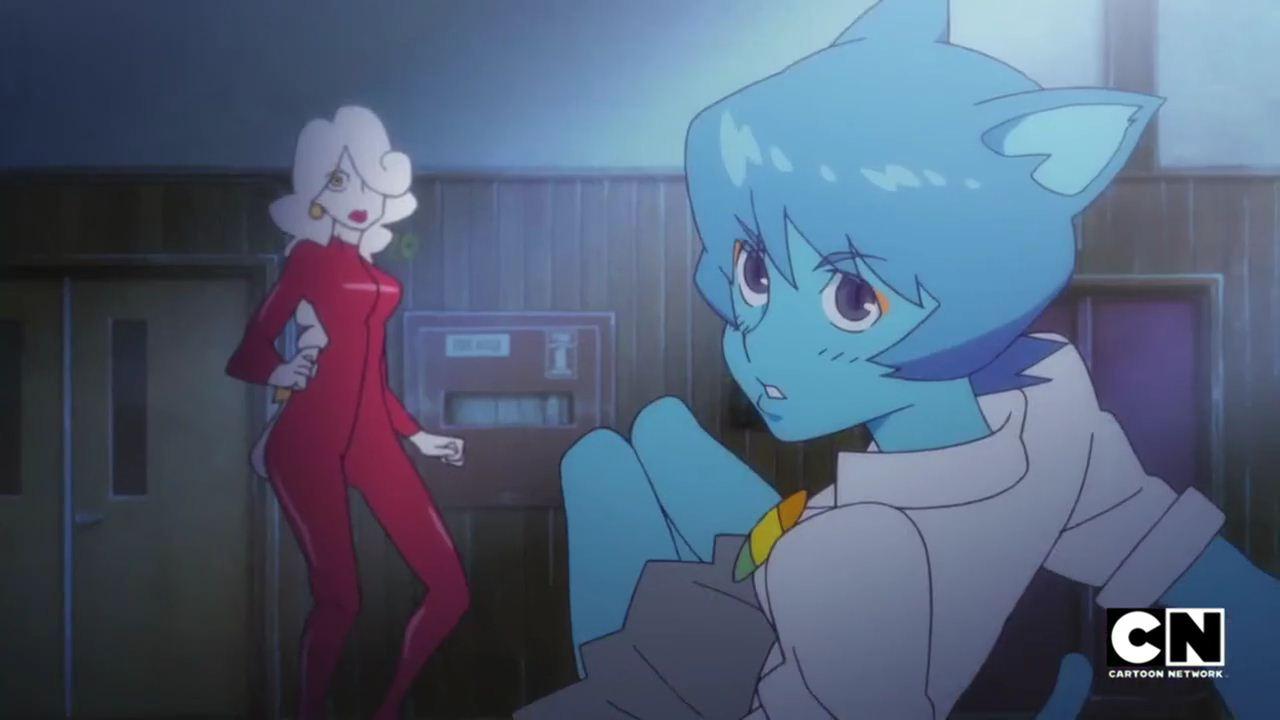 world nicole of amazing anime gumball The